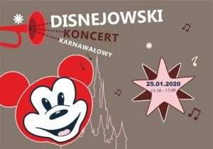 """""""Rozśpiewany Disney"""" - pobieranie wejściówek"""